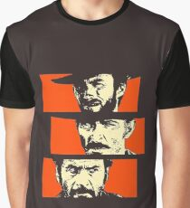 Blondie, Angel Eyes, Tuco Graphic T-Shirt