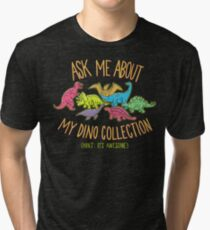 Dino Collection Tri-blend T-Shirt