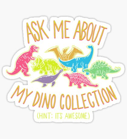 Dino Collection Sticker