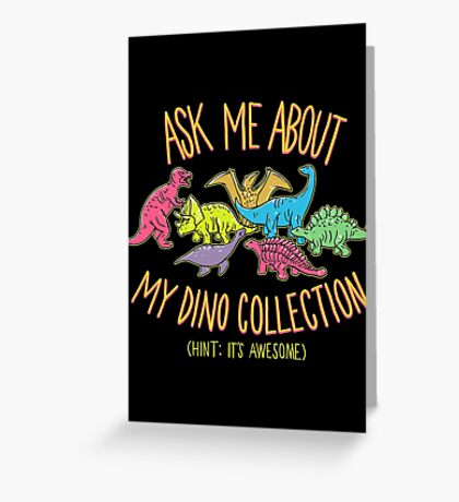 Dino Collection Greeting Card
