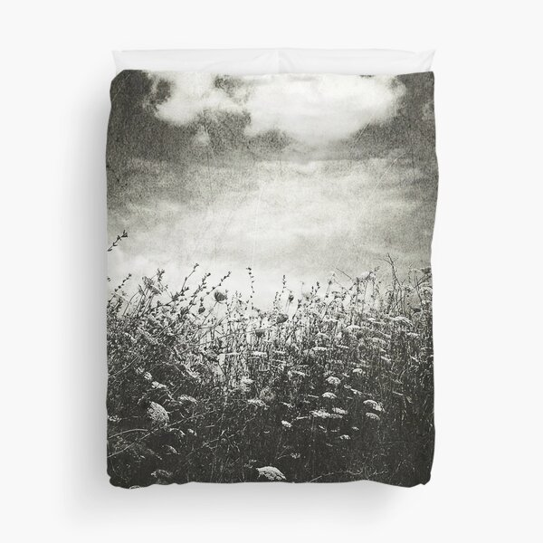 Counting Flowers Like They Were Stars Duvet Cover