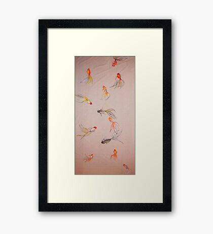 Goldfish Pond Framed Print