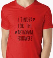 Tinder 4 Instagram Men's V-Neck T-Shirt