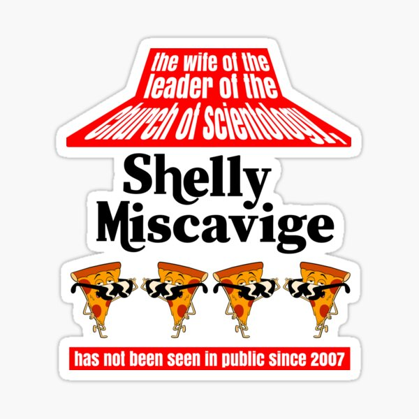 The Wife Of The Leader Of The Church Of Scientology Shelly Miscavige Sticker