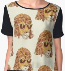 King Of The '80s Women's Chiffon Top