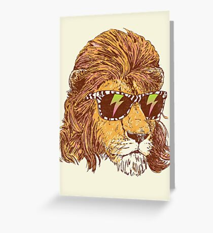 King Of The '80s Greeting Card