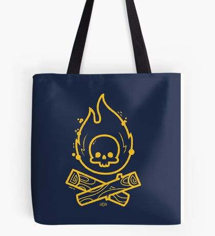 Camp or Die Tote Bag