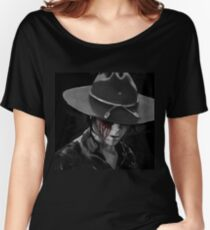 Dad? - The Walking Dead Women's Relaxed Fit T-Shirt