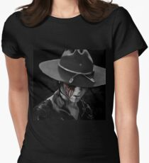 Dad? - The Walking Dead Womens Fitted T-Shirt