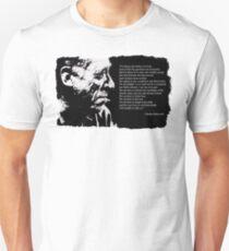 Charles BUKOWSKI - faith quote Unisex T-Shirt