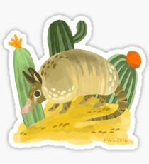 Armadillo Dude Sticker