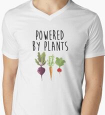 Powered By Plants Men's V-Neck T-Shirt