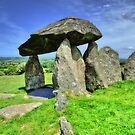Ancient Burial Chamber in Mid - North Wales (UK) by Remo Kurka