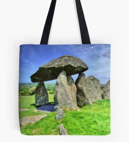 Ancient Burial Chamber in Mid - North Wales (UK) Tote Bag
