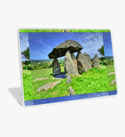 Ancient Burial Chamber in Mid - North Wales (UK) Laptop Skin
