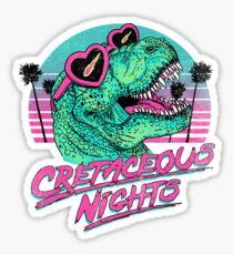 Pegatina Noches cretáceas