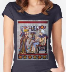 Egyptian Pharaoh Fashion Women's Fitted Scoop T-Shirt