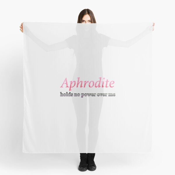 Aphrodite Holds No Power Here (AroAce!)  Perfect Gift Scarf