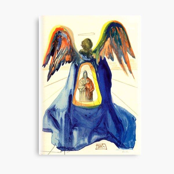 Dali's Divine Comedy | Dante Purifed |  Canvas Print