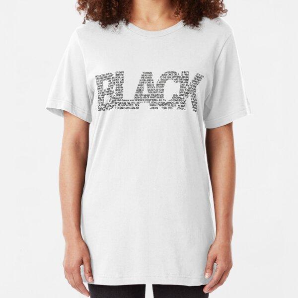 B L A C K Slim Fit T-Shirt