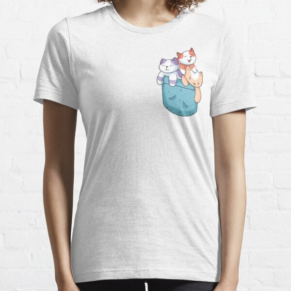 Cats in the Pocket Essential T-Shirt
