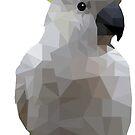 Low Poly Cockatoo Bird by superminx