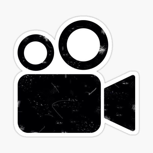 schäbige Kamera Sticker