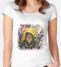 Biggie Tribute Women's Fitted Scoop T-Shirt