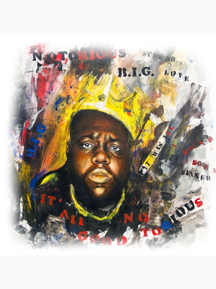 Biggie Tribute by portraitbyflora