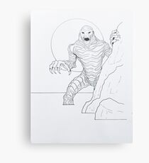 Creature From The Lagoon Metal Print