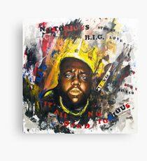 Biggie Tribute Canvas Print
