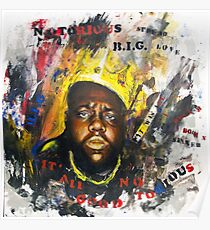 Biggie Tribute Poster
