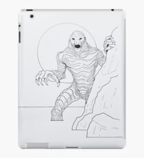 Creature From The Lagoon iPad Case/Skin
