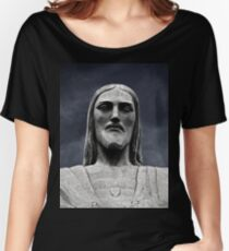 Corcovado Rio Brazil Statue Women's Relaxed Fit T-Shirt