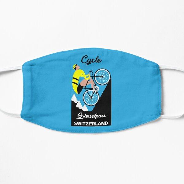 Grimselpass Switzerland Cycling | Extreme Cycling | Sport | Endurance Biking | Fitness Flat Mask