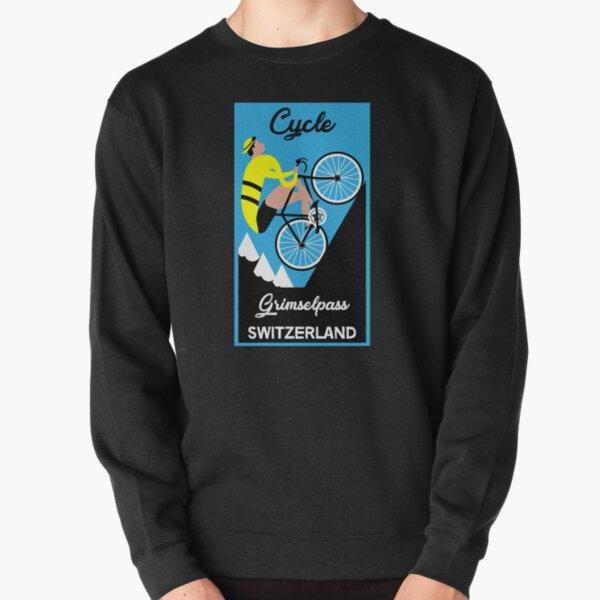 Grimselpass Switzerland Cycling   Extreme Cycling   Sport   Endurance Biking   Fitness Pullover Sweatshirt