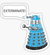 Dalek - Exterminate! Sticker