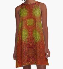 Bubbles Galore A-Line Dress