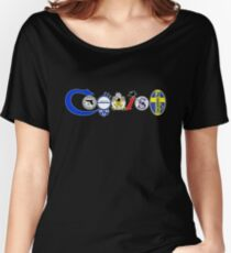 Coexist, 2nd amendment, guns, love Women's Relaxed Fit T-Shirt