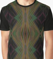 Lasers Fractal Light Waves Abstract pattern Graphic T-Shirt
