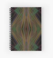 Lasers Fractal Light Waves Abstract pattern Spiral Notebook
