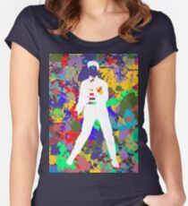 Colours to the King (Elvis Presley) 3 Women's Fitted Scoop T-Shirt