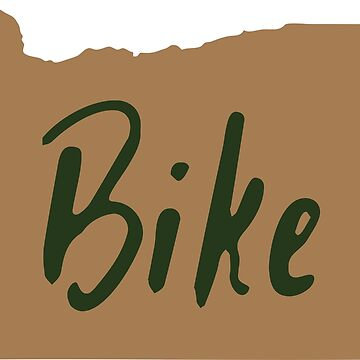 Bike Oregon - Tan by lawjfree