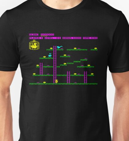 Chuckie Egg Game Screen ZX Spectrum T-shirt