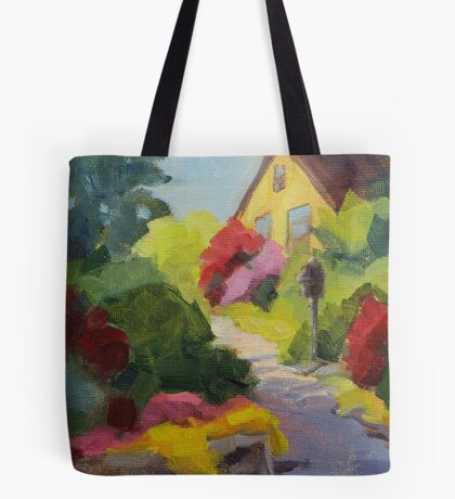 Garden Path - Daily Painting Tote Bag