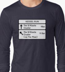 Kessel Run Smugglers Sign Long Sleeve T-Shirt