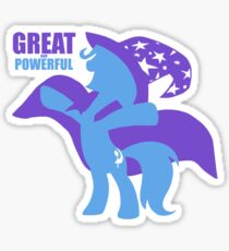 Great and Powerful (text) Sticker