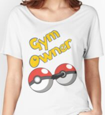 Pokemon Gym Owner Women's Relaxed Fit T-Shirt