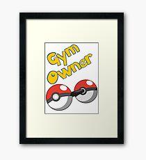 Pokemon Gym Owner Framed Print