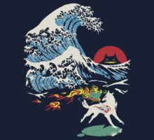 The Great Wave off Oni Island | Unisex T-Shirt